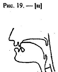 Артикуляционные уклады, буква Н
